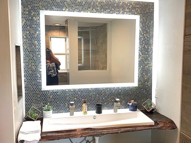 Contemporary/Rustic Bathroom - Pinellas Park FL